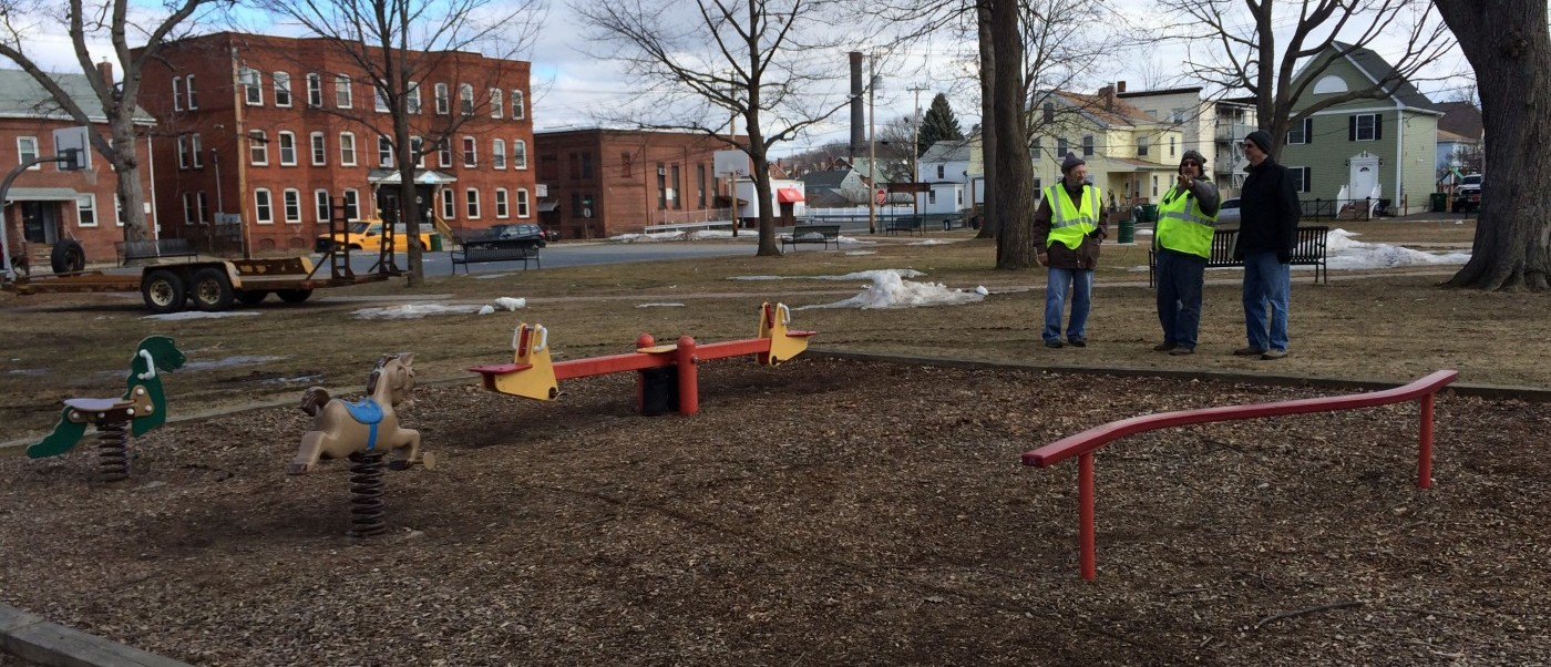 ADA Assessment of city parks in Chicopee, Massachusetts