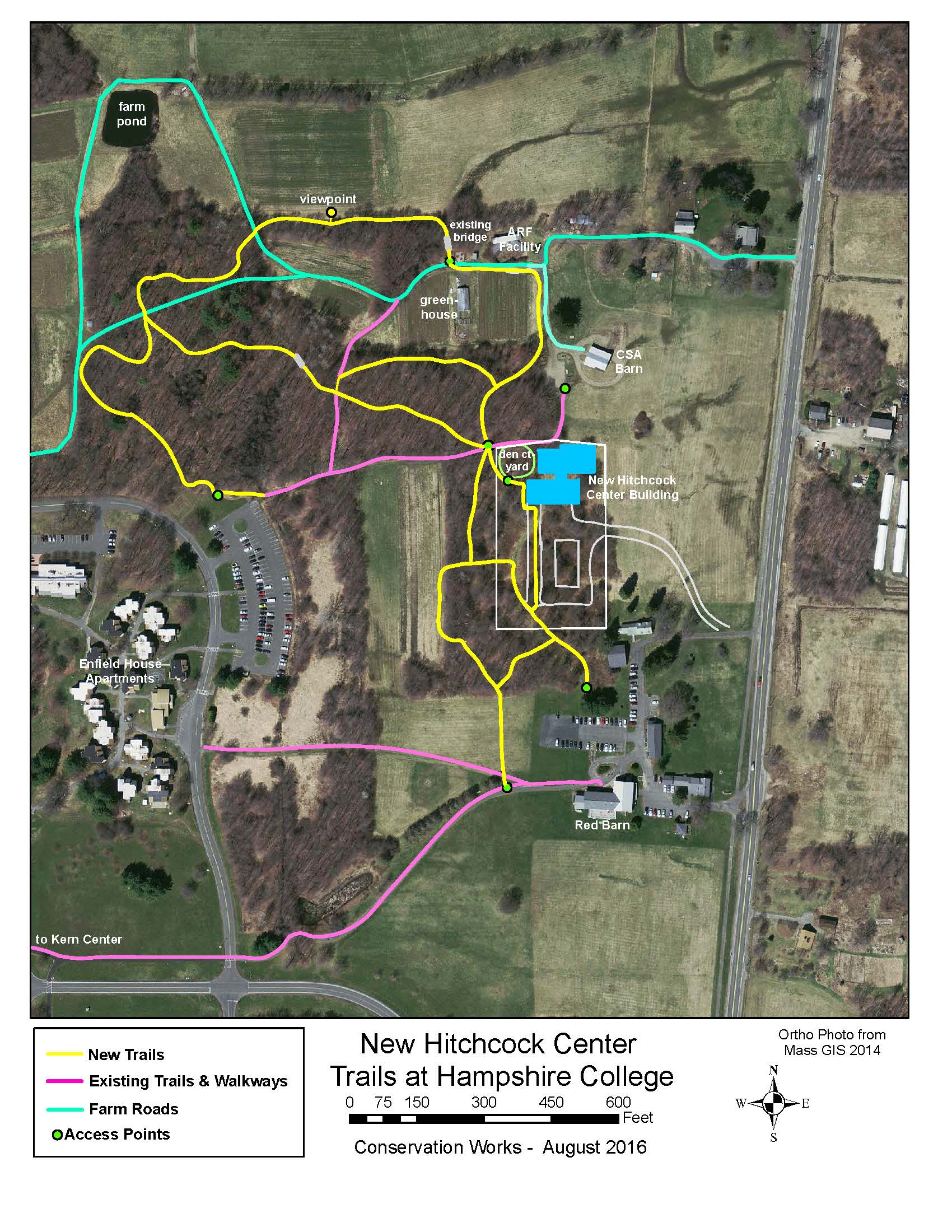 Hitchcock Center Trail System