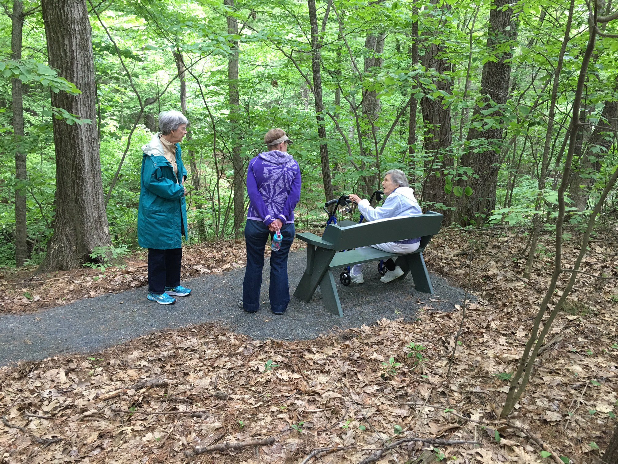 Accessible Trail At The Lathrop Community, Northampton, MA